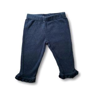10/$20 Carter's Black Ruffle Leggings